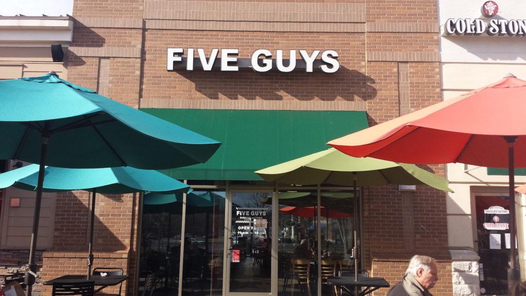 Five Guys- Blakeney1