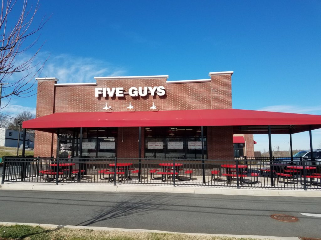 Five Guys-Gastonia