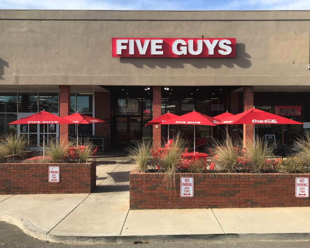 Five Guys- Plaza Midwood