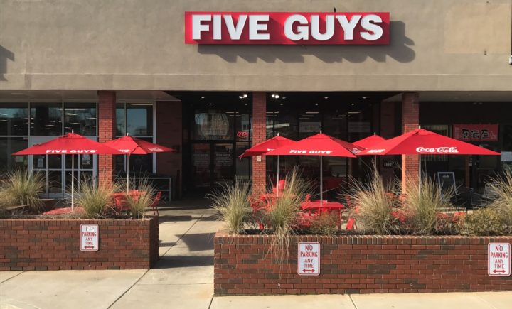 Five Guys- Plaza Midwood