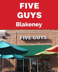 Five Guys Blakeney