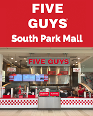 SouthPark Mall Five Guys