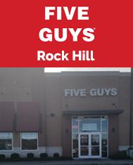 Rock Hill Five Guys