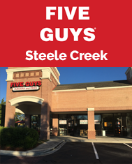 Steele Creek Five Guys