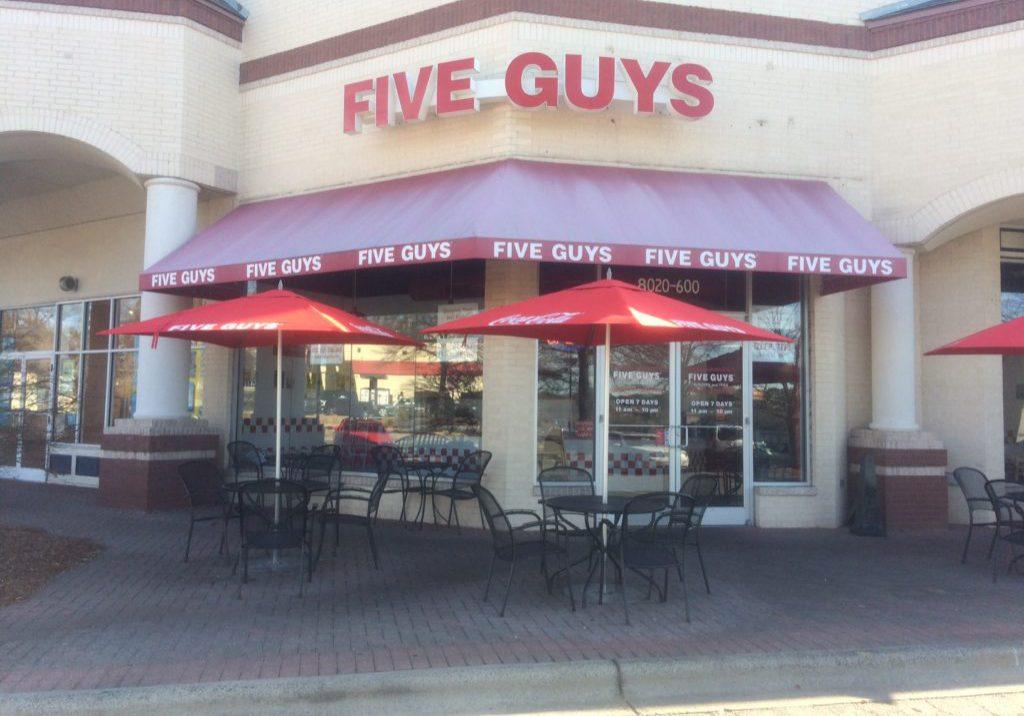 Five Guys Arboretum