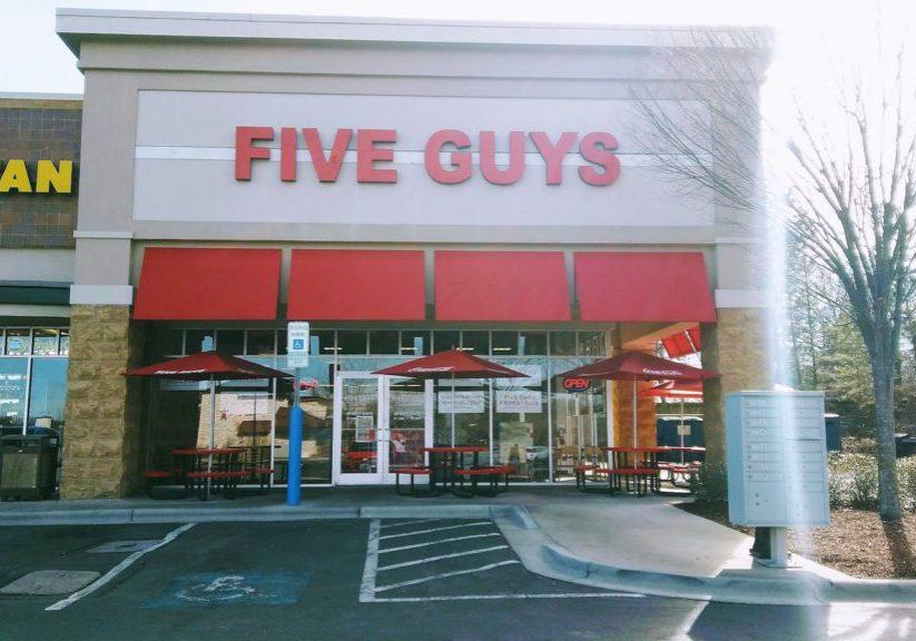 Five Guys- Monroe