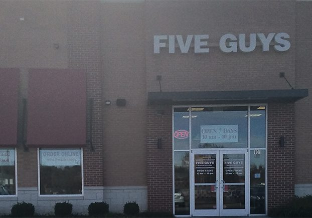 Five Guys Rock Hill
